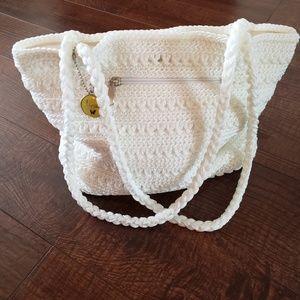 NWOT Lina Crochet purse
